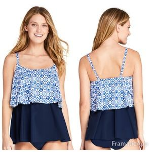 NWOT Lands End Tankini Size 18  W